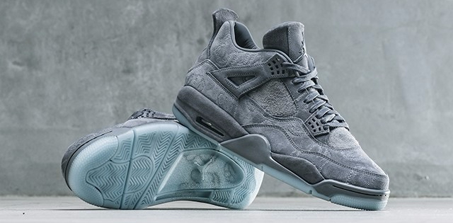KAWS x Air Jordans IV